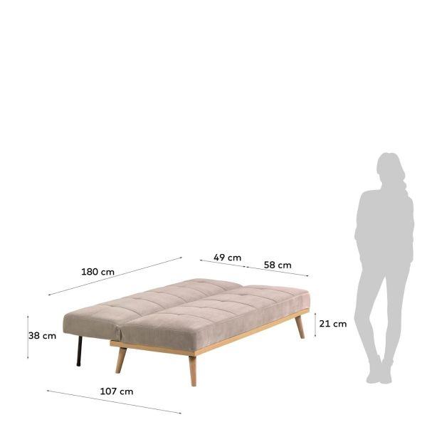 Canapea extensibila NIRI 182 cm