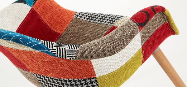 SCAUN KENNY PATCHWORK COLOR
