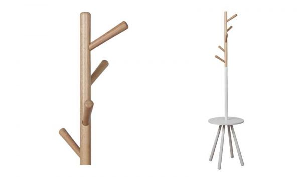 CUIER TABLE TREE WHITE
