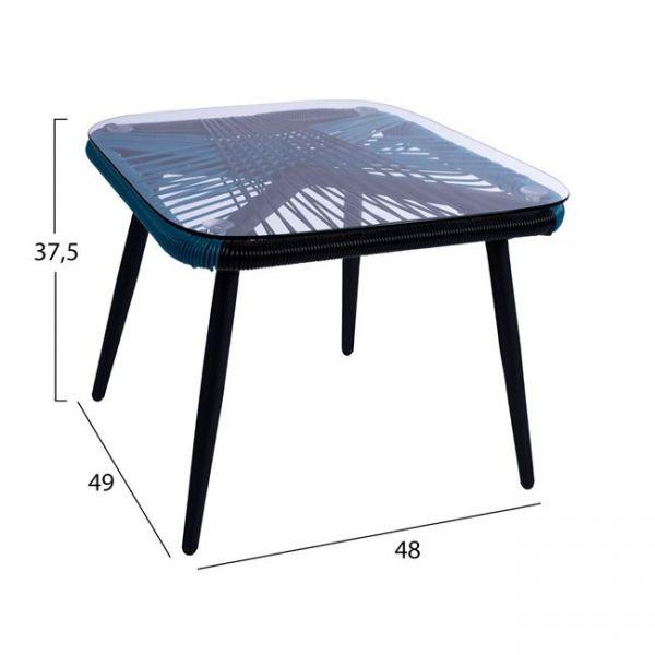 Masuta TEORY 49x49x37cm
