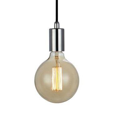 SNORRE Pendant 1L Chrome Lampa suspendata