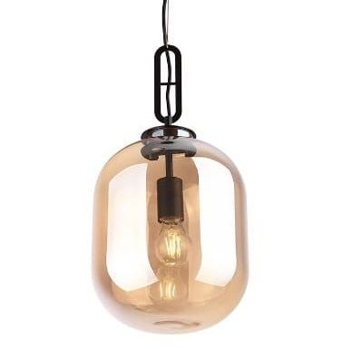Lampă suspendată AMBRA BROWN 24 CM