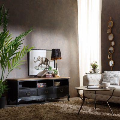 Comoda TV IGOR BLACK 152 X 45,50 X 59,50 CM