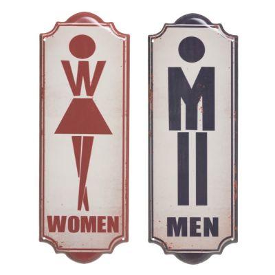 Simbol perete MEN / WOMEN