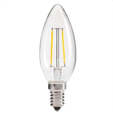 BEC LED DECORATIV LUMÂNARE E14 2W