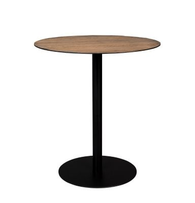 Masă bar BRAZA ROUND BROWN 75 cm