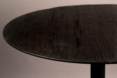 Masă bar BRAZA ROUND BLACK 75 cm