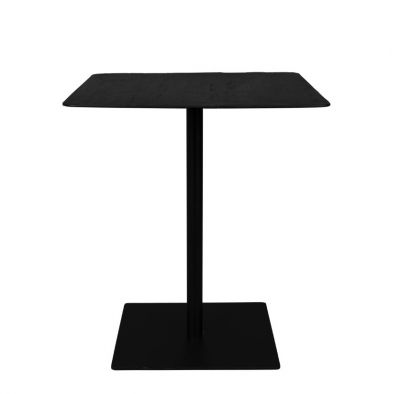 Masă bar BRAZA SQUARE BLACK 70 cm