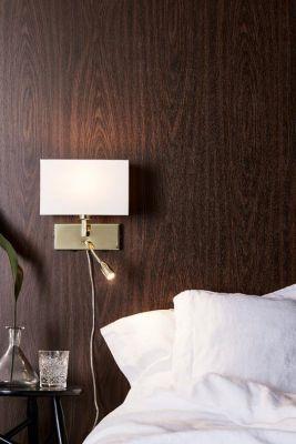 SABRA 2L Brass/White Lampa de perete