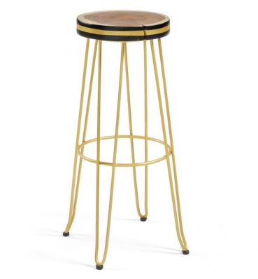 SCAUN BAR FARLEY YELLOW