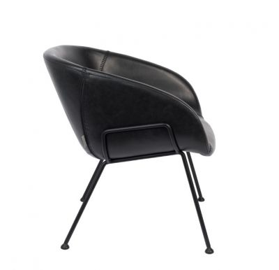 Scaun lounge FESTON BLACK