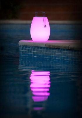 Lampă de masă / boxă portabilă BAREL