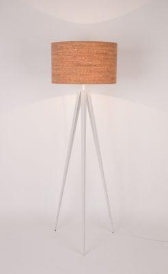 TRIPOD CORK WHITE Lampă stativă