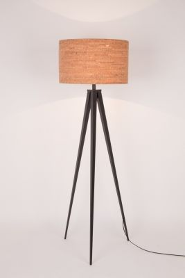 TRIPOD CORK BLACK Lampă stativă