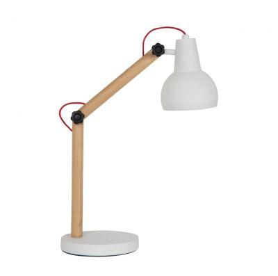 Lampă de masă STUDY WHITE