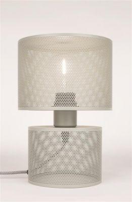 GRID GREY Lampă de masă