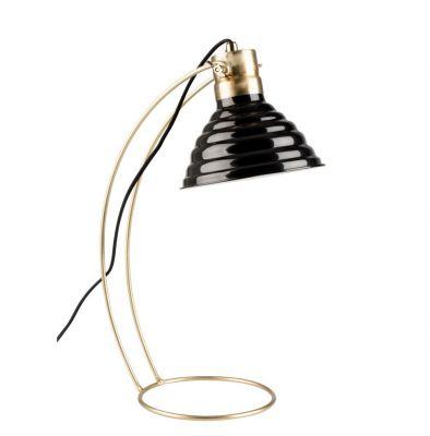 Lampă de masă CURLY BLACK