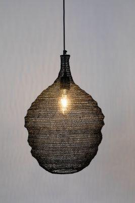 Lampă suspendată LENA BLACK