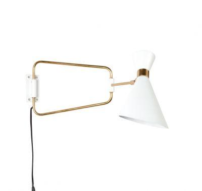 SHADY WHITE Lampa de perete