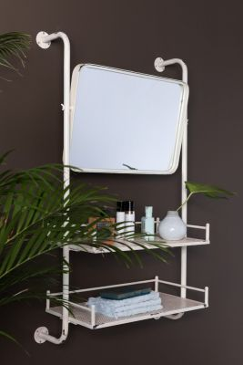 Raft de perete BARBER MIRROR