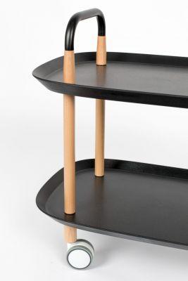 Măsuță / Noptieră CRUISER BLACK 57x37 cm