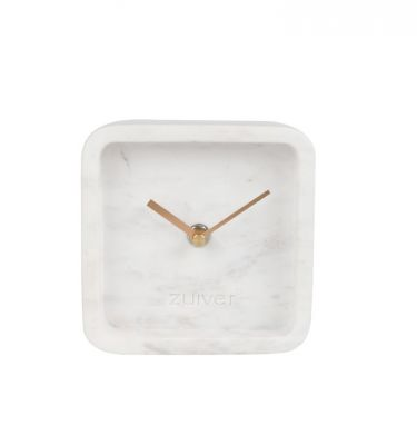 Ceas LUXURY TIME MARBLE WHITE