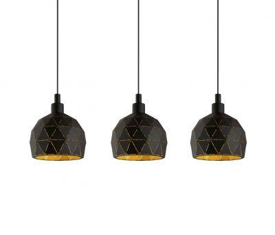 Lampă suspendată ROCCAFORTE LINE Black Gold