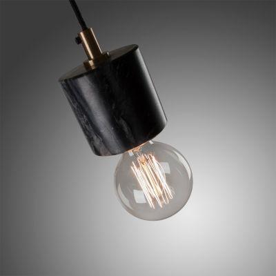 Lampă suspendată LAPA MARBLE BLACK