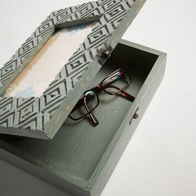 Cutiuță cu ramă foto ELC GREY