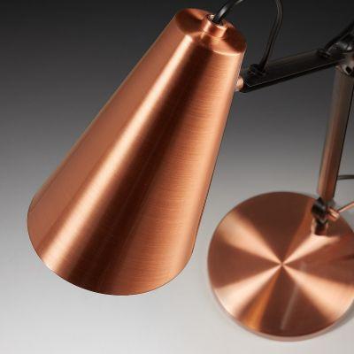 PAOL COPPER Lampă de masă
