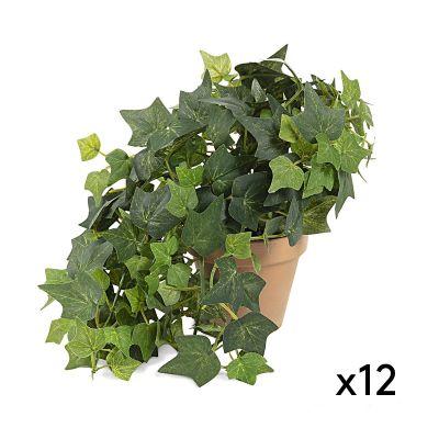 Plantă artificială IVY - Set 12 buc.