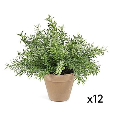 Plantă artificială ROSEMARY - Set 12 buc.