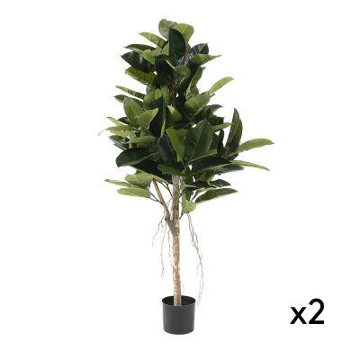 Plantă artificială FICUS -Set 2 buc.