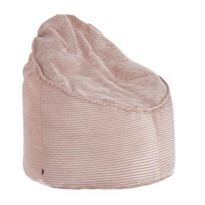 Taburet ZORA Corduroy Pink 80 cm