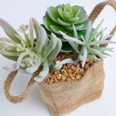 Plantă artificială în ghiveci MINA