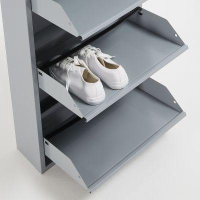 Dulap pantofi 3 compartimente BITS GREY