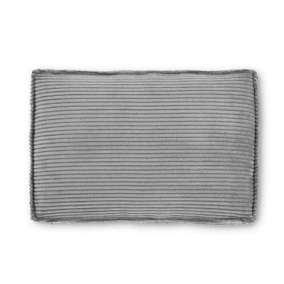 Pernă canapea BLOSS VELVET GREY 50 x 70 cm