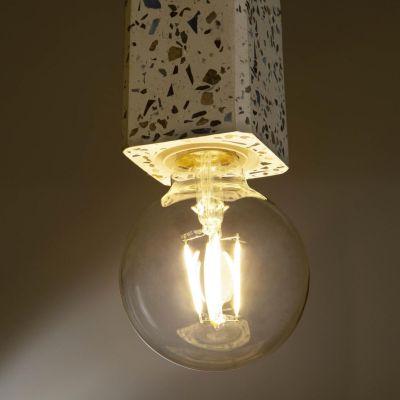 Lampa suspendata LIANA WHITE SQUARE