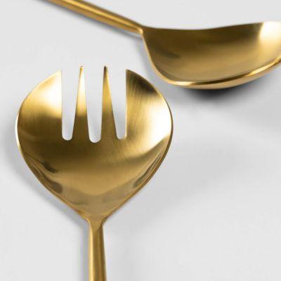 Spatule de metal pentru salata FERY GOLD