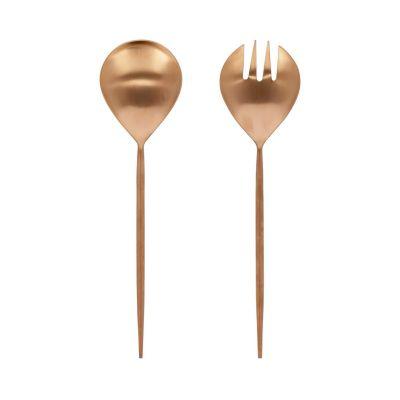 Spatule de metal pentru salata FERY ROSE GOLD