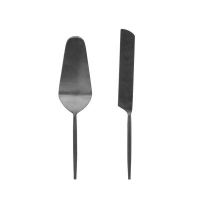 Spatule de metal pentru prajituri ERINA BLACK