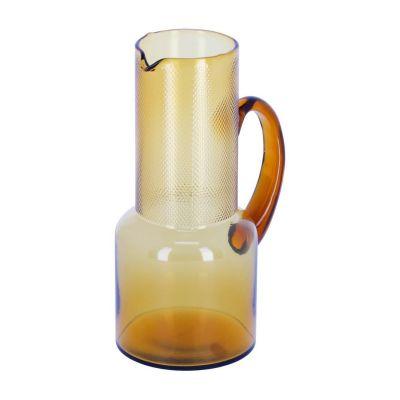 Carafă de sticlă NAURA MUSTARD