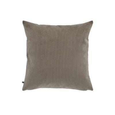 Husă de pernă NAMIA CORDUROY Dark grey 45 x 45 cm