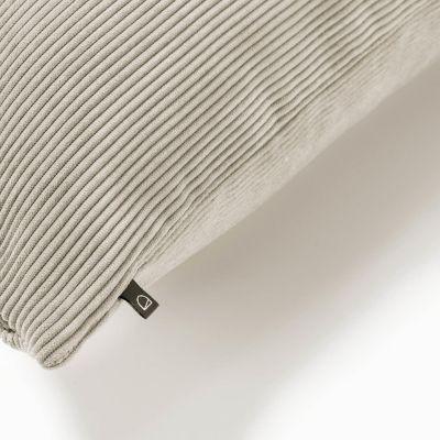Husă de pernă NAMIA Corduroy Taupe 60 x 60 cm