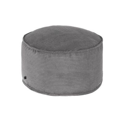 Taburet ZORA Corduroy Grey 60 cm