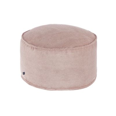 Taburet ZORA Corduroy Pink 60 cm