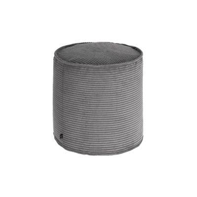 Taburet ZORA Corduroy Grey 40 cm