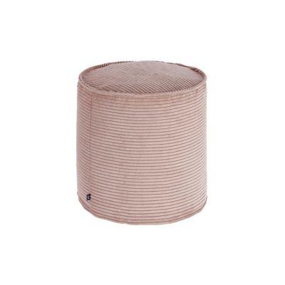 Taburet ZORA Corduroy Pink 40 cm
