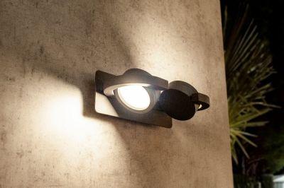 Lampă de perete ZUGA GREY 2 L