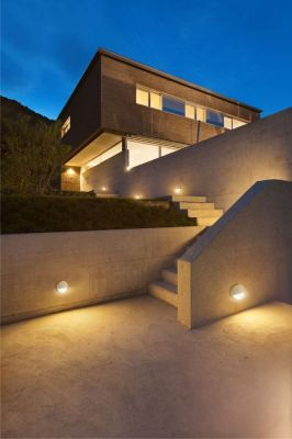Lampă de perete DALO ROUND GREY